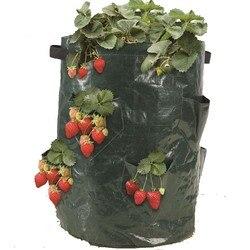 Truskawka powiększająca torba  ogrodnictwo doniczka torba do sadzenia żywy kryty sadzarka ścienna narzędzie ogrodowe