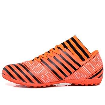Botas de fútbol para interiores, botas de fútbol, zapatillas de deporte para hombre, Calcetines originales, zapatos de fútbol con botas de tobillo, zapatillas de fútbol baratas