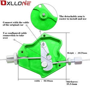 Image 3 - Moto universelle CNC aluminium moto facile à tirer levier dembrayage système pour Kawasaki NINJA 300 400 250R 400R 650R ER6F ER6N