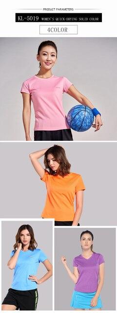 Kunli 2018 Новая Женская теннисная рубашка для спорта на открытом