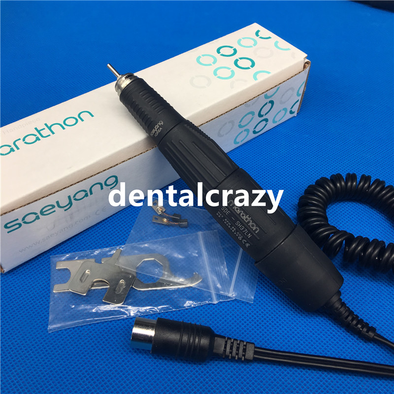 Best MARATHAN micromotor handle SDE-SH37LN Dental Micro handpiece 45000 rotor Three SizeBest MARATHAN micromotor handle SDE-SH37LN Dental Micro handpiece 45000 rotor Three Size