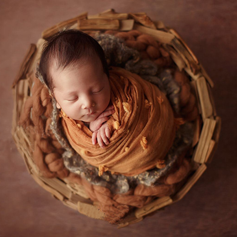 Newborn Photography Solid Wood Baskets Props Tiny Baby Picture Photoshoot Accessory Infant Photography Studio fotografia Props newborn photography solid wood baskets props tiny baby picture photoshoot accessory infant photography studio fotografia props