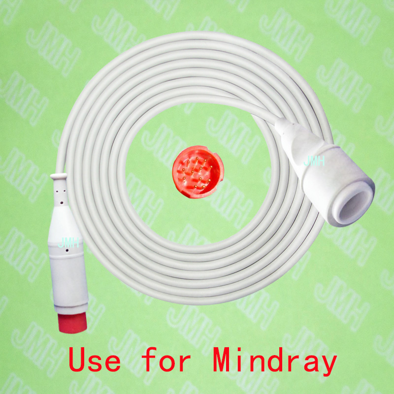 Compatible with Mindray-Edward IBP transducer Adapter cable,12pin to 5pin.Compatible with Mindray-Edward IBP transducer Adapter cable,12pin to 5pin.