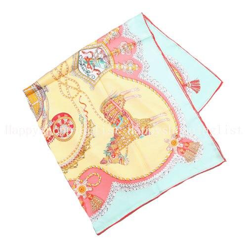 ELEGANT HANDMADE BRAND 100%Twill Silk Scarf TWIC-89402