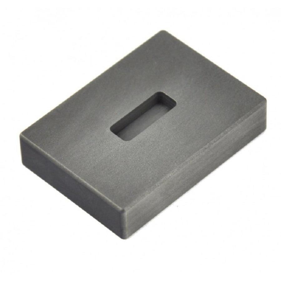 FREE SHIPPING  graphite ingot mold  for 1oz  Gold bar refining casting/    Gold melting crucible/tin. casting molds graphite ingot mold for 665g gold casting 320g silver melting gold bar mold free shipping