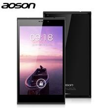 "EN Stock EE. UU. Almacén 7 ""3G PC de la Tableta de Aoson M706T Con Android 4.4 Quad Core MTK8382 IPS Pantalla 1G/8G Dual Cámara Dual SIM GPS"