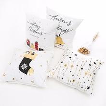 QIFU Merry Christmas Decoration for Home Christmas Ornaments Christmas 2018 Deer Santa Claus Happy New Year 2019 Decor Christmas