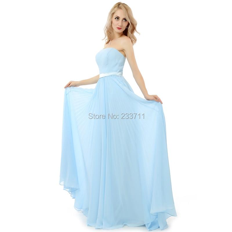 Popular Long Light Blue Prom Dresses-Buy Cheap Long Light Blue ...