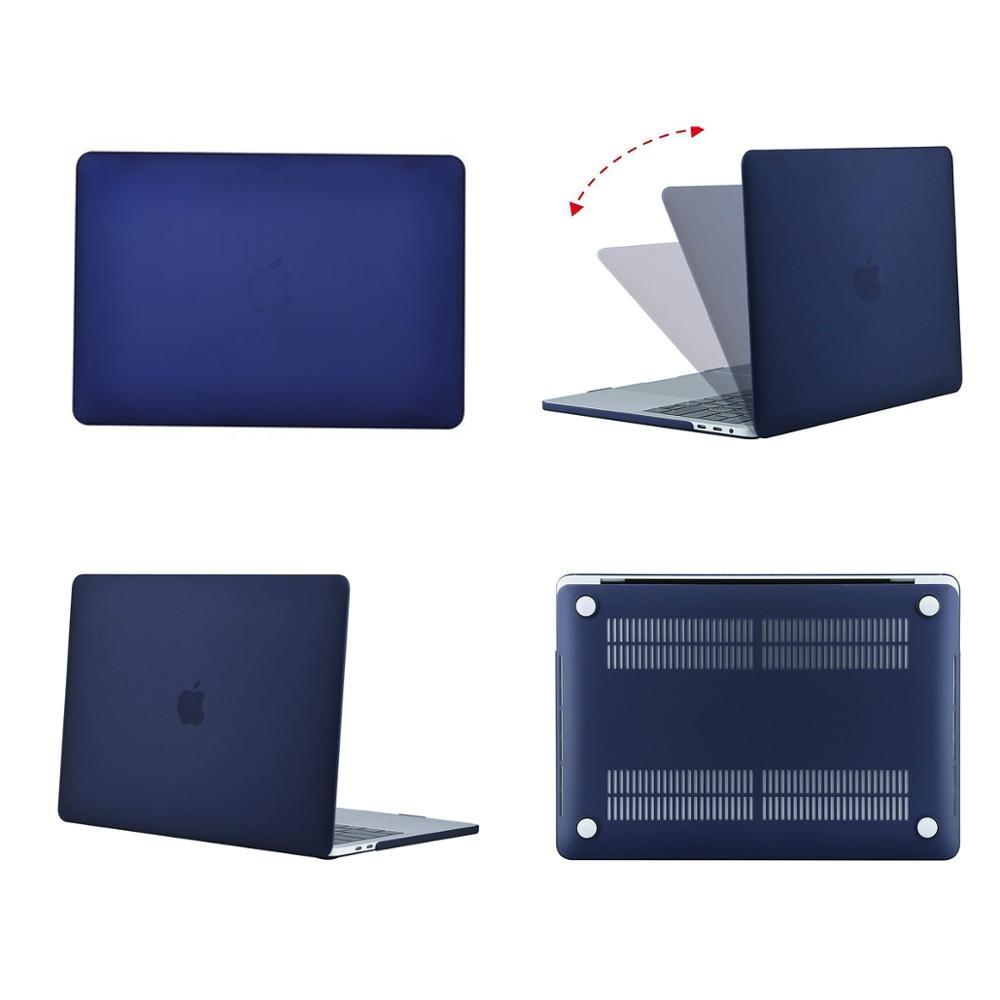 MOSISO Crystal Matte Case для Macbook Pro Retina 11 12 Air - Аксессуары для ноутбуков - Фотография 3