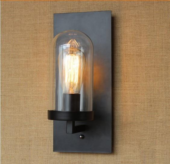 Retro Loft Style Industrial Edison Vintage Wall Light Lamp Antique ...