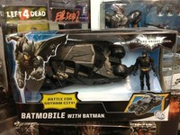Batman Vehicle The Dark Knight Toy Black Batman Car Bane Car Toys Batman Tumbler Brinquedos PVC