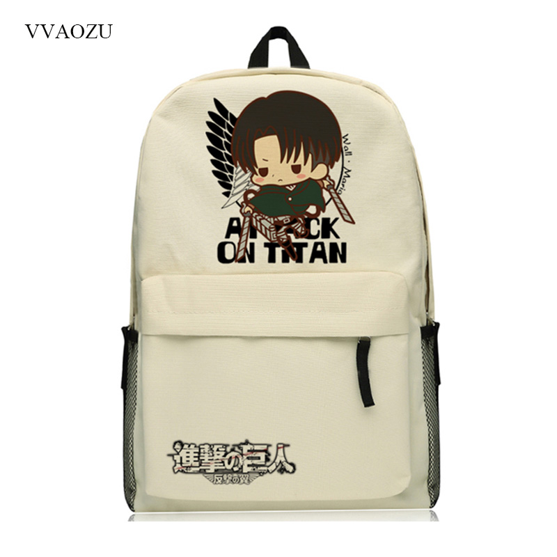 Attack on Titan Cartoon Laptop Backpack Shingeki no Kyojin Men Women School Notebook Bag Oxford Travel Backpacks School Bags недорго, оригинальная цена