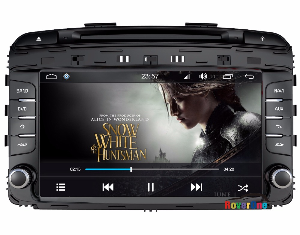 RoverOne For Kia Sorento 2015 - 2016 Android 7.1 2G RAM 4 Core HD Screen 3G WIFI Car Media Styling Accessories Spare Parts
