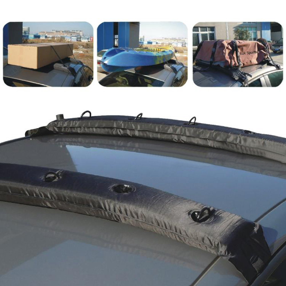 2PCS Inflatable Universal Roof Top Rack Travel Touring Luggage Carrier Soft For BMW Mini Cooper F56 F55 R56 R60 Car Accessories