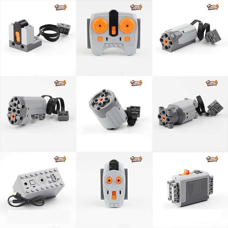 STAR LePIns Technic Teljesítményfunkciók Motor beállítás IR RX - Építőjátékok