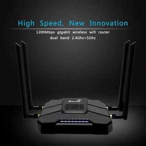 Image 1 - 3g 4g נתב ה sim כרטיס עם 4g מודם wifi עם כרטיס ה sim חריץ lte נתב 4 * 5dbi רווח גבוה אנטנות gigabit נתב MT7621 ערכת שבבים