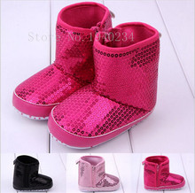 Новый теплая зима весна осень шику Prewalker детские лодыжки снегоступы младенца детская обувь впервые ходунки BS12