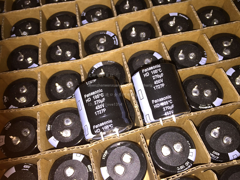 30pcs Matsushita Electric 450V270UF 30X30 HD series of high quality imported 270UF 450V free shipping