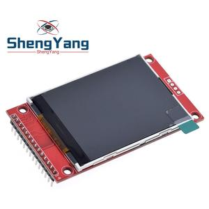 """2.4"""" 2.4 inch 240x320 SPI TFT LCD Serial Port Module 5V/3.3V PCB Adapter Micro SD Card ILI9341 LCD Display White LED for Arduino(China)"""