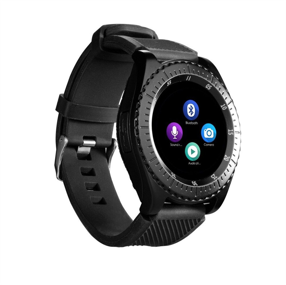 EPULA New 2G Z3 Bluetooth3.0 Smart Watch For Men Support SIM and TFcard  Fitness Tracker  Answer Call Camera For Android Phone orologio delle forze speciali