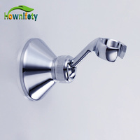 Polished Chrome Finish Solid Brass Shower Seat Handheld Shower Head Holder Wall Mounted