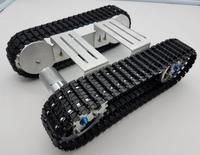 DIY Caterpillar Tank Robot Car Chassis F21088