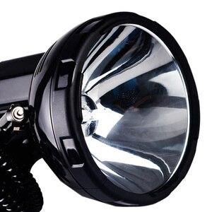 Image 3 - แบบพกพา HID Spotlight 220W Xenon ค้นหาล่าสัตว์ 12V ไฟฉาย 35 W 55 W,65 W,75 W,100 W,160 W