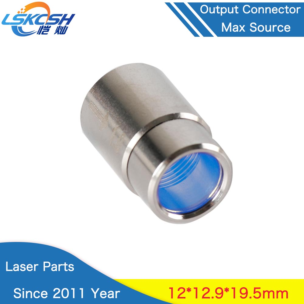 LSKCSH Max Fiber Laser Source Output Connector Protective Lens Group For Max Fiber Power Source Bodor