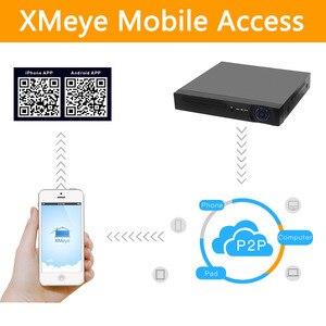 Image 5 - Enregistreur vidéo en réseau, 4 ou 8 canaux, pour caméra IP HD 1080P, PoE 802.3af ONVIF, 4ch x 5MP/8ch x 4MP, vidéosurveillance, NVR, avec porte PoE h265