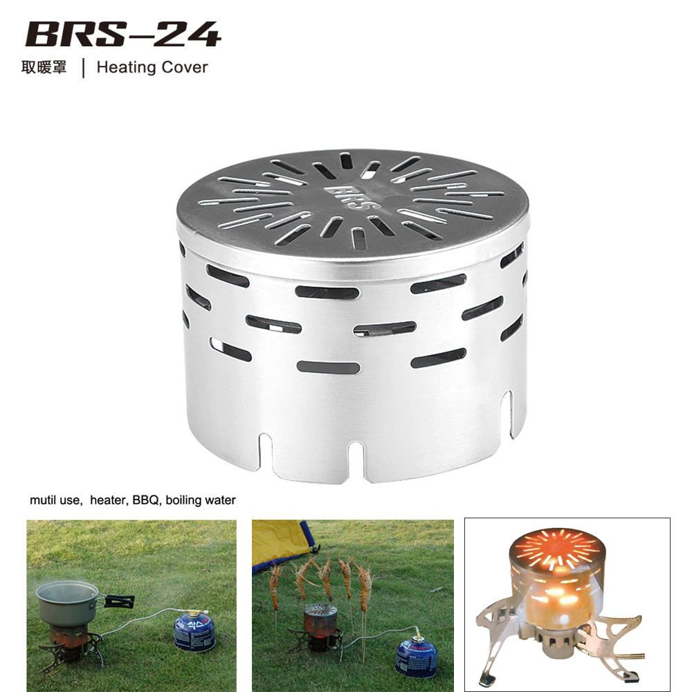 BRS-24 Far Infrared Heating Outdoor Travel Stove Heater Warmer Tent Cover