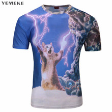 Fashion Clothing Women Men t shirt 3d Sloth with sunglasses wads of cash reflecting off them