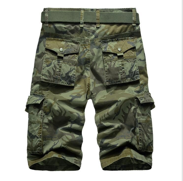 Mannen Militaire Toevallige Cargo Korte Leger Camouflage Korte - Herenkleding - Foto 4
