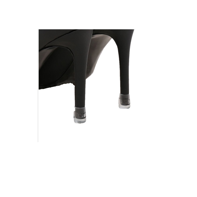 50 pairs XS S M L XL High Stiletto Heeled High Heel Protectors Heel Stoppers Shoes Covers Caps For Lawn Wedding Party in Shoe Care Kit from Shoes