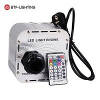 32 واط وميض فلاش rgbw led الألياف البصرية ضوء محرك 28key rf البعيد في السماء النجوم ، متعددة الألوان أضواء تومض الخرز + العجلة|أضواء الألياف البصرية|مصابيح وإضاءات -