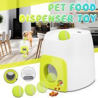 Pet Dog Toy Automatic Interactive Ball Launcher Food reward Educational dog food feeder toys Dog IQ Training Tool