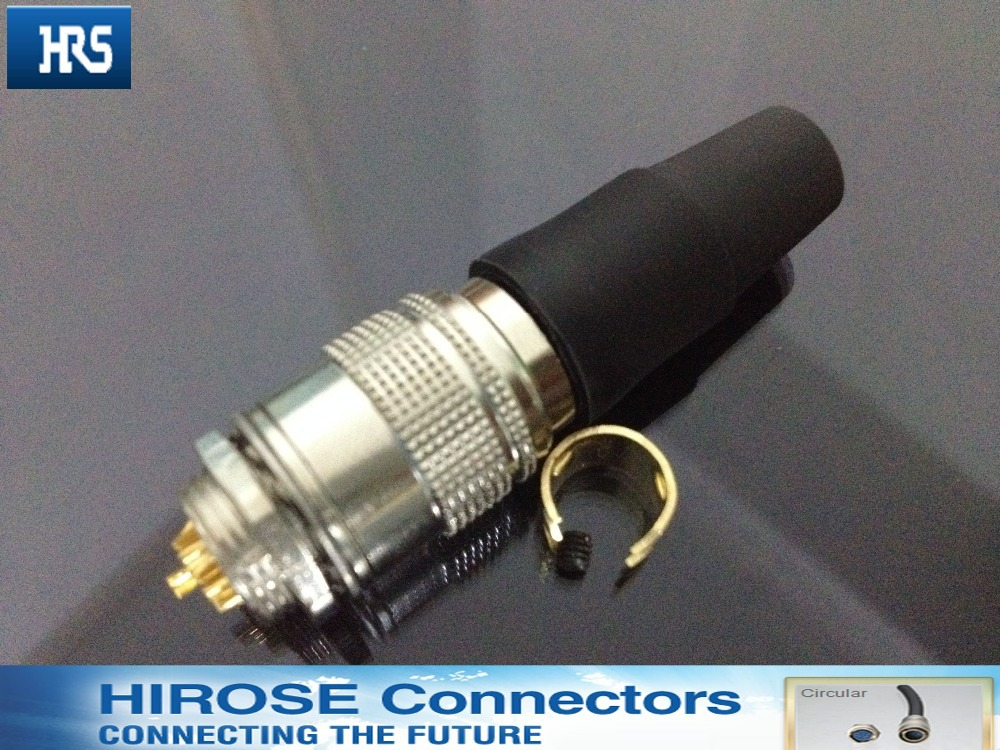 Hirose Connector Stopcontact HR10A-7R-7P/HR10A 7 P-7 P, Speciale Industriële Camera Connector Stopcontact 7pin