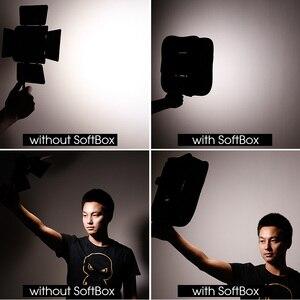 Image 2 - SB600/SB300 Studio Softbox Diffuser for YONGNUO YN600L II YN900 YN300 YN300 III Air Led Video Light Panel Foldable Soft Filter