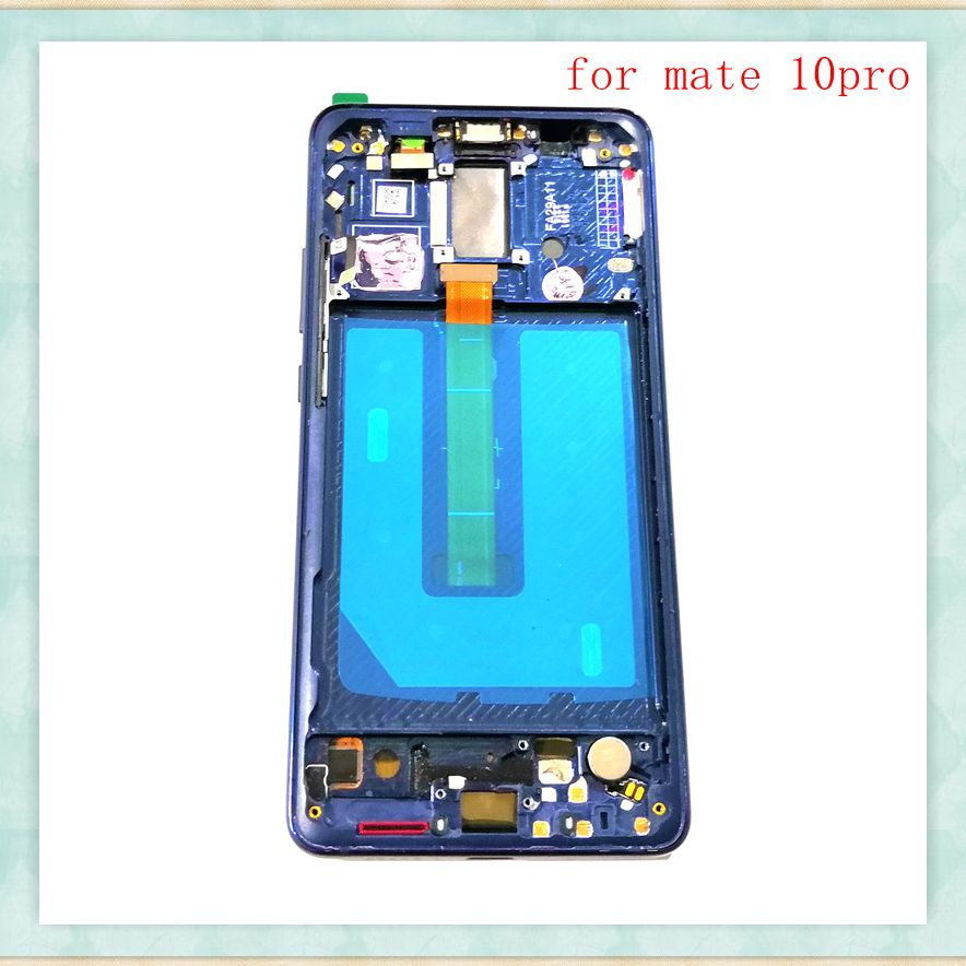 6.0For Huawei Mate 10pro BLA-L09 BLA-L29 Lcd Screen Display+Touch Glass digitizer Frame Assembly Replace Parts6.0For Huawei Mate 10pro BLA-L09 BLA-L29 Lcd Screen Display+Touch Glass digitizer Frame Assembly Replace Parts