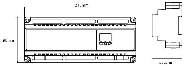 Image 5 - New Led DMX512 Decoder Constant Voltage DC12V  24V 5A*24CH output LED display DIY Setting Address RJ45 24 channels DMX decoder-in RGB Controlers from Lights & Lighting
