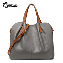 купить Genuine Leather Women Bag 2019 Leather Handbags Head Layer Cowhide Women Handbags Luxury Designer Crossbody Bags For Women Tote по цене 2309.2 рублей