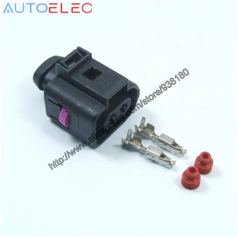 FREEPOST VW Audi 2 Pin Connector Plug 4D0 971 992-4D0971992