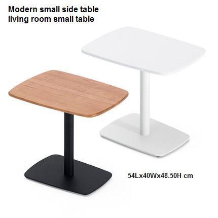 Petite table d'appoint moderne salon petite table chambre table de chevet table d'angle simple en bois massif