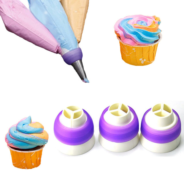 TANGCHU 3 sizes Professional Baking Plastic Pastry Three Color ...