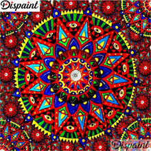 Dispaint Full Square/Round Drill 5D DIY Diamond Painting Mandala scenery 3D Embroidery Cross Stitch Home Decor A10893