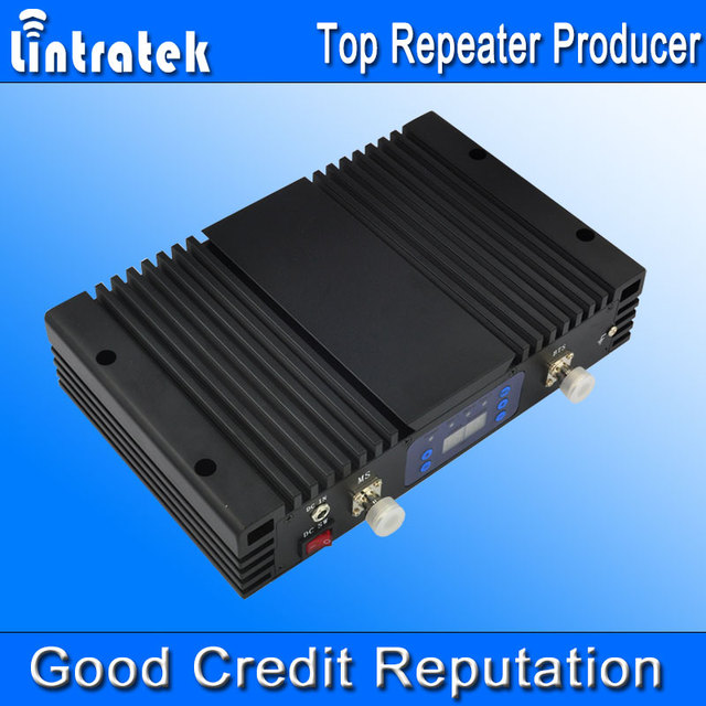Alto Ganho GSM 850 1900 mhz AGC MGC Dual Band 850/1900 mhz LCD Do Telefone Móvel UMTS 850 1900 mhz Impulsionador Celular Repetidor 75db 27dBm