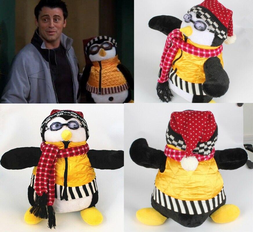 """Cute TV Series Joey/'s Friends HUGSY Plush PENGUIN Rachel Stuffed Doll 18/"""" Toy"""