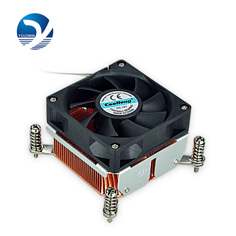 1.5U Active Solution cooling fan radiator All aluminum relieving direct contact with CPU Cooler 4pins PWM Function F7-10 computer cooler radiator with heatsink heatpipe cooling fan for hd6970 hd6950 grahics card vga cooler