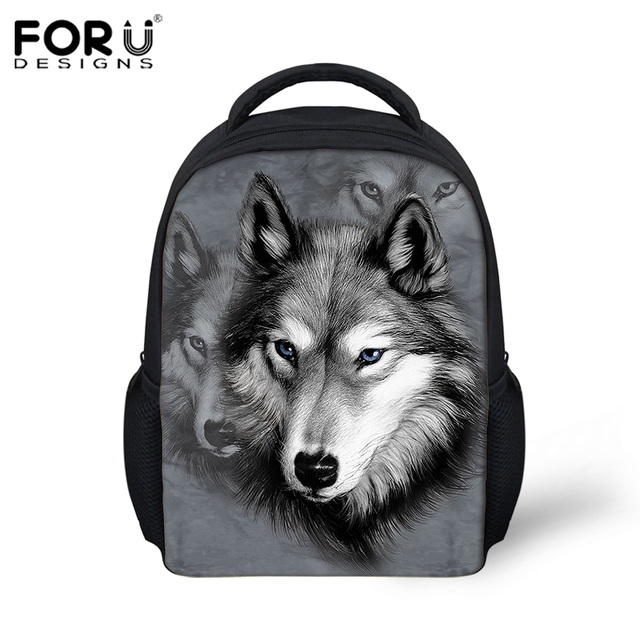 47196b251292 cartoon animal kids backpacks kindergarten cool 3d wolf small shoulder bags  baby children bag pack toddler mochila infantil