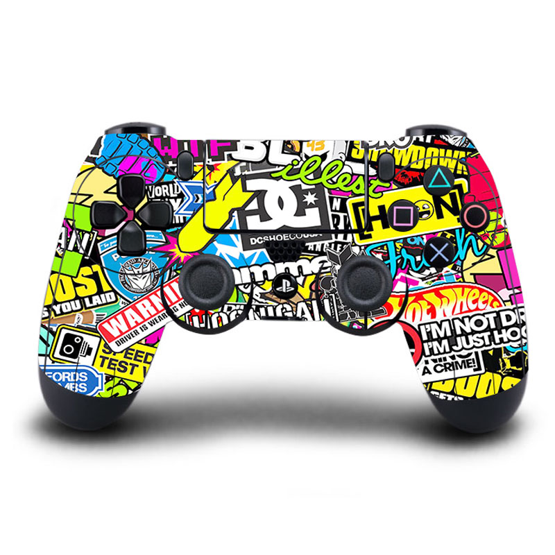 Homereally Stickers Ps4 Controller Skin Classic Cristiano