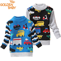 baby boys and baby girls cartoon sweaters 0-3 years little kids pullover sweaters spring and autumn fashion cardigans 2016 new